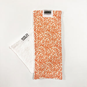 Eco-Cloth - Orange Reef - Made To Order