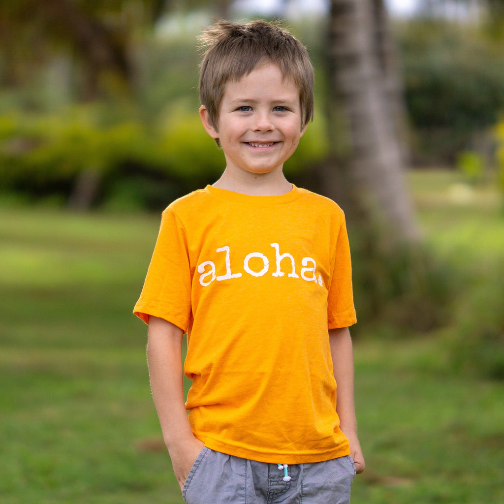 aloha. - CHILD T-Shirt  - 2 Colors