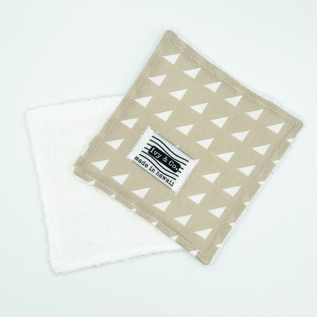 Eco-Cloth - Ecru Triangle - Made To Order