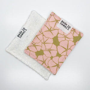 Eco-Cloth - Pink Flower - Made To Order