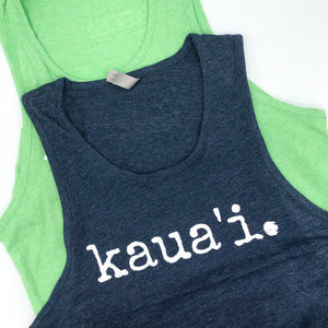 kaua'i. - UNISEX Tank Top - 2 colors