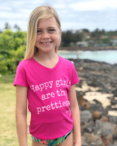 Happy Girls - CHILD V-Neck T-Shirt - SALE