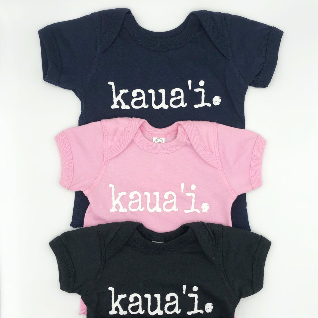 kaua'i. - BABY t-shirts - various colors