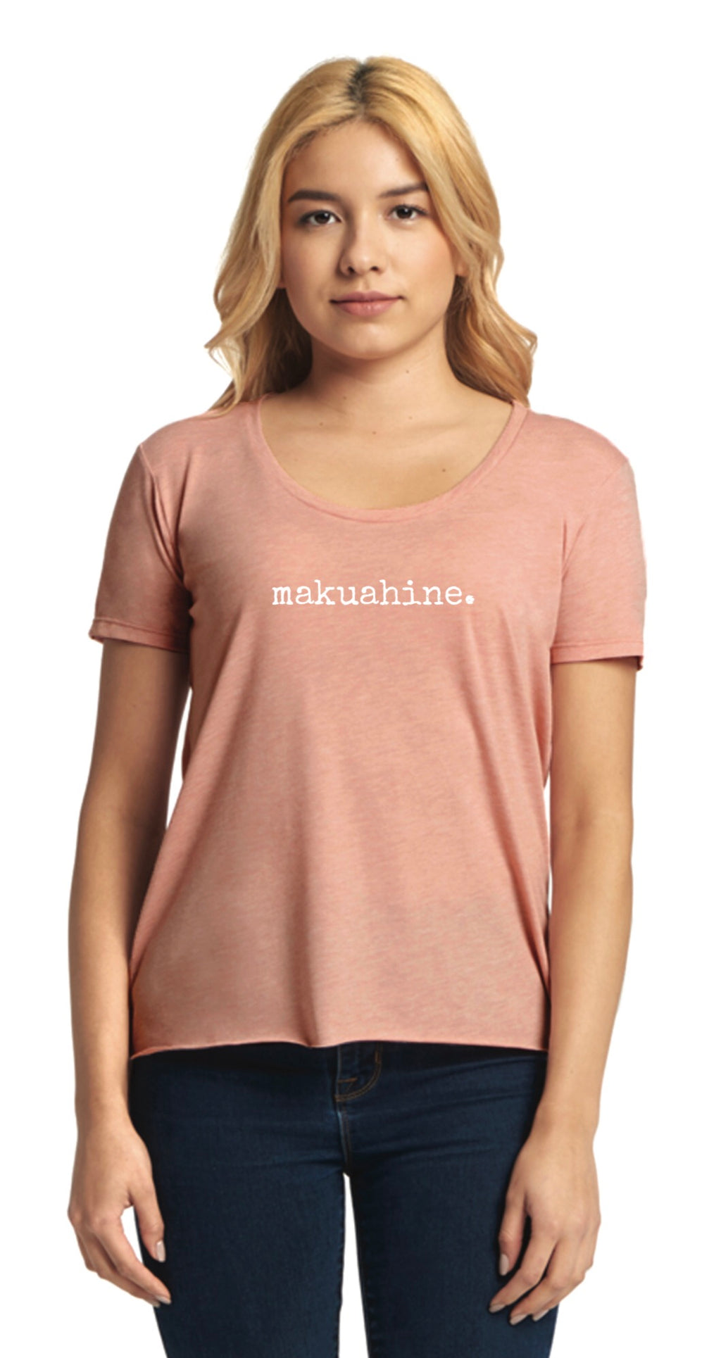 makuahine. (mother) scoop neck T-Shirt - ADULT Sizes - 2 Colors