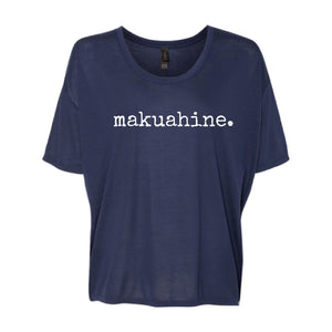 makuahine. (mother) Drop Shoulder T-Shirt - Extended Sizing