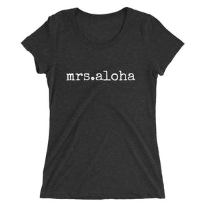 mrs.aloha - LADIES' T-shirt - various colors