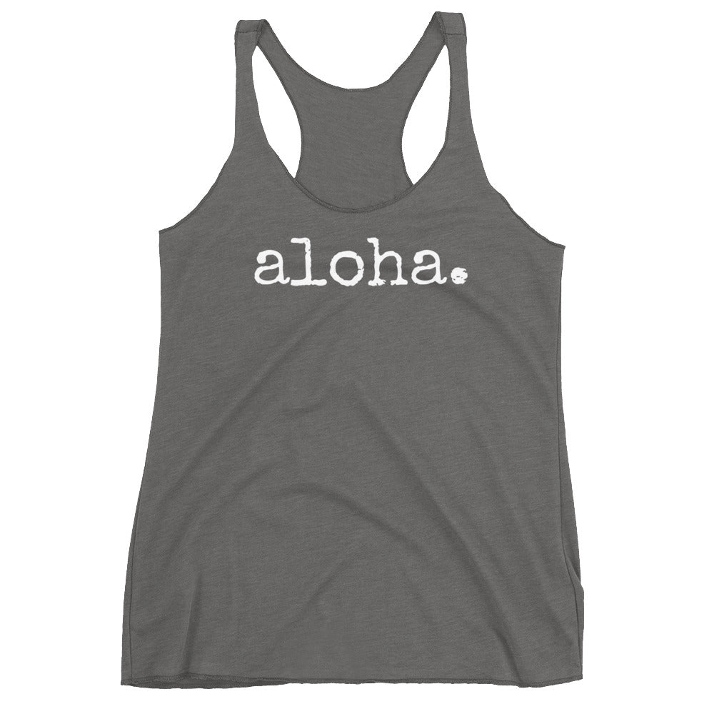 aloha. - Women's Tank Top - various colors