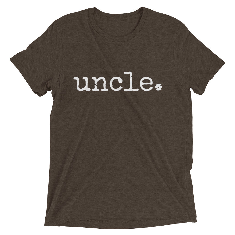 uncle. - ADULT T-Shirt - 2 colors - up to 3XL