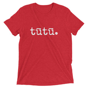 tūtū. (grandma) - ADULT short sleeve t-shirt - Up to 4XL - Made To Order