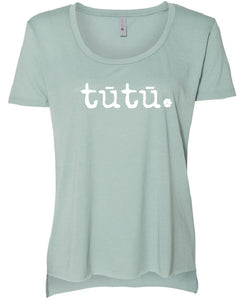 tūtū. - Women's Scoop Neck T-Shirt
