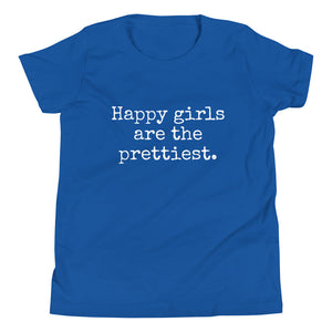 Happy Girls - Youth Short Sleeve T-Shirt - Made To Order