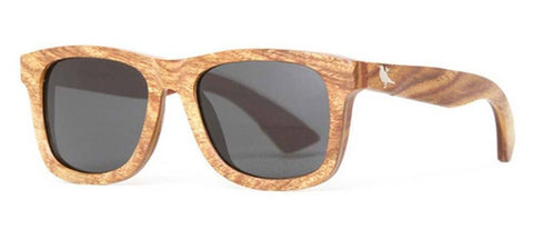 Proof Ontario Premium Red Ebony Wood Sunglasses - Proof India