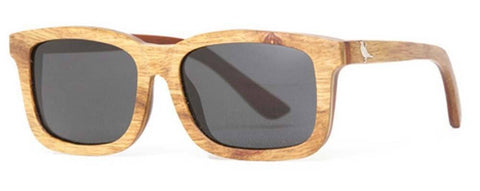 Proof Bannock Premium Red Ebony Wood Sunglasses - Proof India