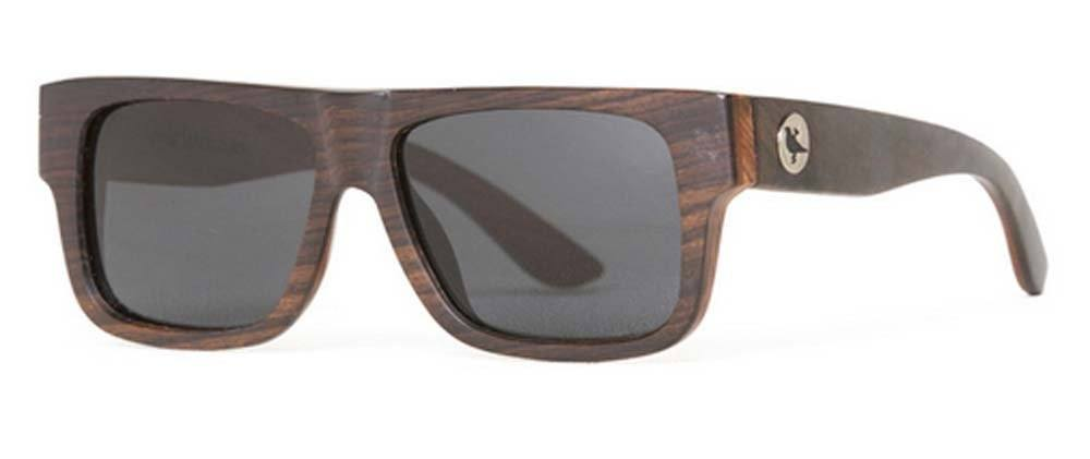 Proof Meridian Premium Ebony Wood Sunglasses - Proof India