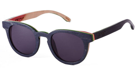 Proof Payette Skate Rasta Wood Sunglasses - Proof India