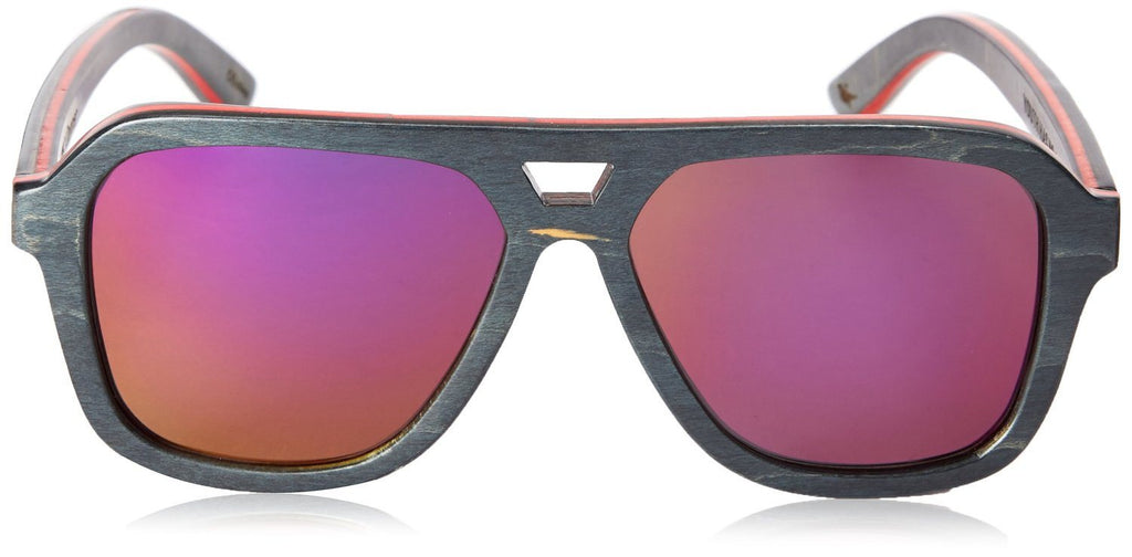 Proof Donner Black Skate Wood Sunglasses - Proof India