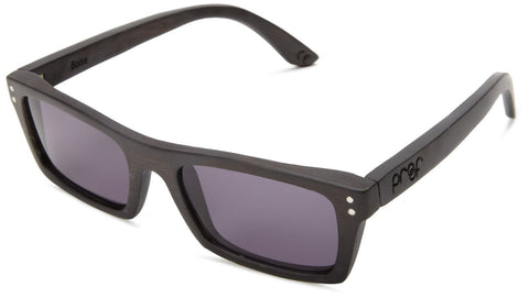 Proof Boise Black Maple Wood Rectangular Sunglasses - Proof India