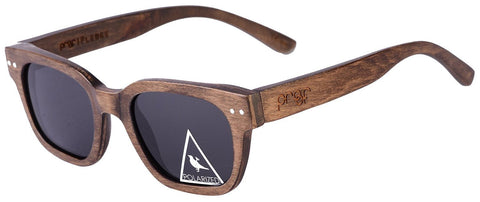Proof Pledge Stained Wood Sunglasses - Proof India