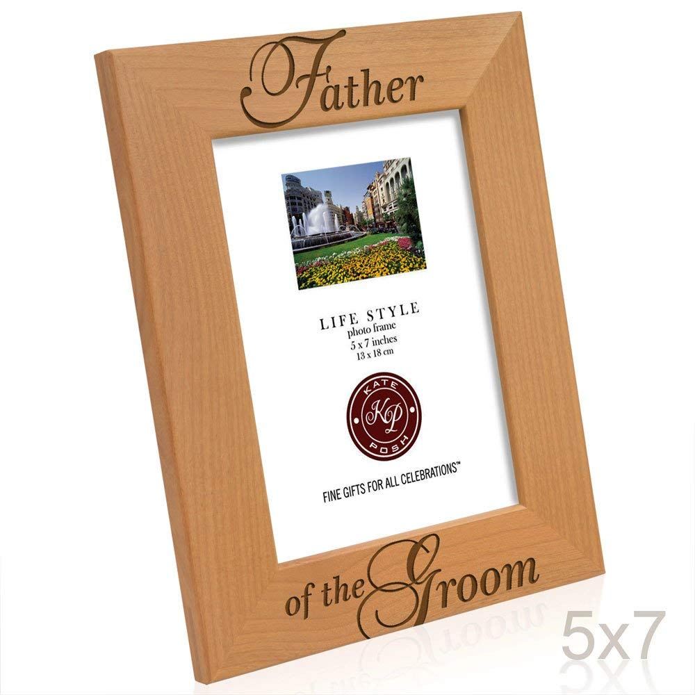 Kate Posh - Father of the Groom Picture Frame (5x7 Vertical)