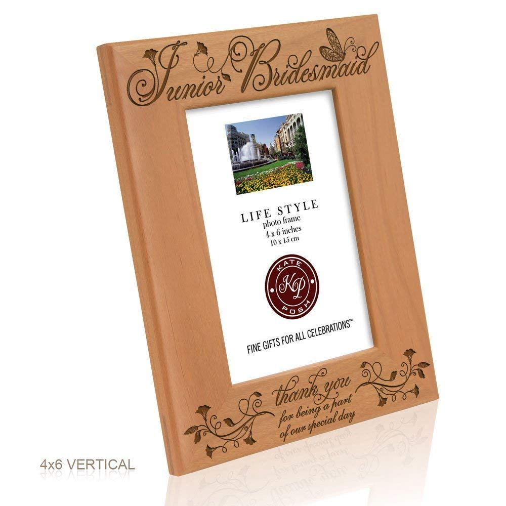Kate Posh - Junior Bridesmaid - Thank you for being a part of our special day - Picture Frame (4x6 Vertical)