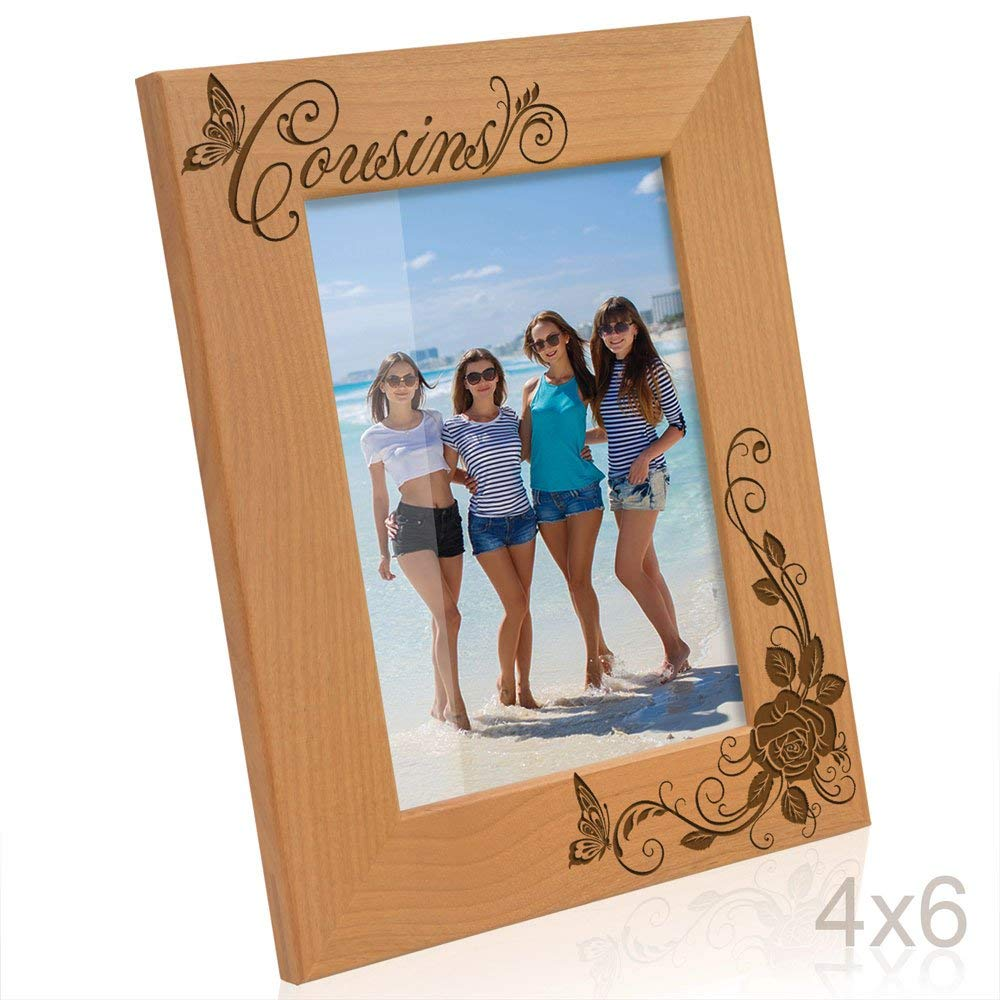 Kate Posh - Cousins Picture Frame (4x6 Vertical)