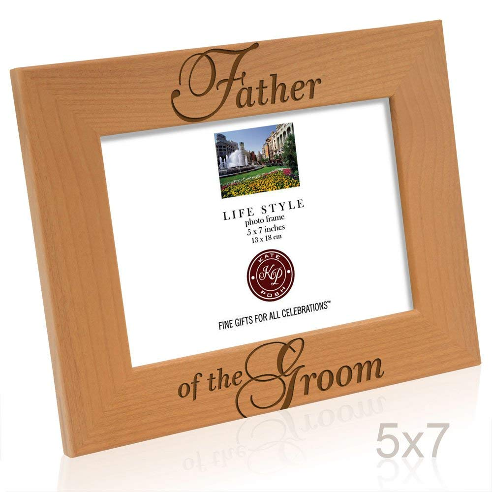 Kate Posh - Father of the Groom Picture Frame (5x7 Horizontal)
