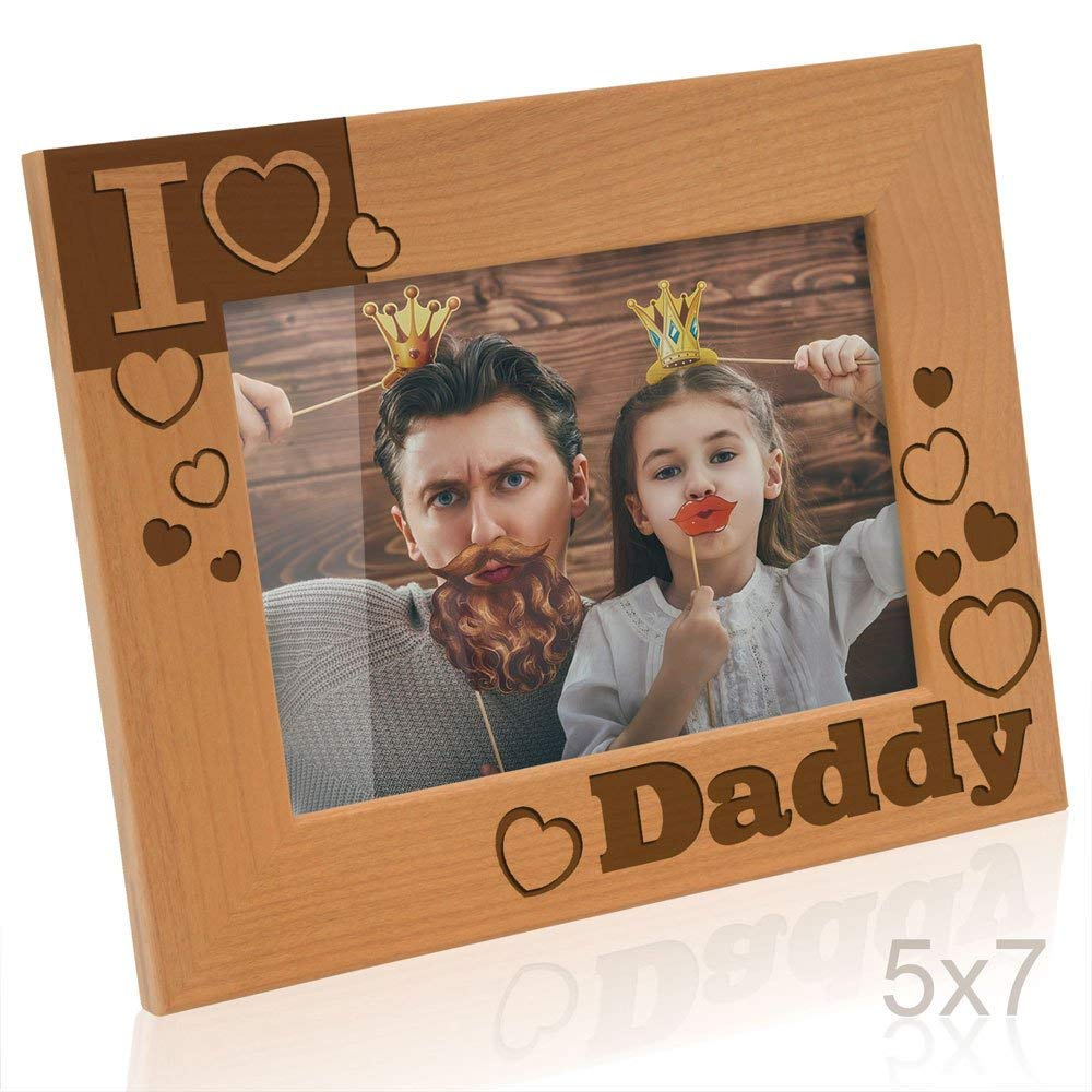 Kate Posh - I Love Daddy Picture Frame