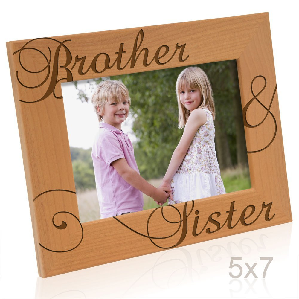 Kate Posh - Brother and Sister Picture Frame
