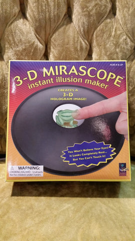 3D Mirascope, instant illusion maker