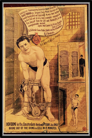 Harry Houdini Poster #10