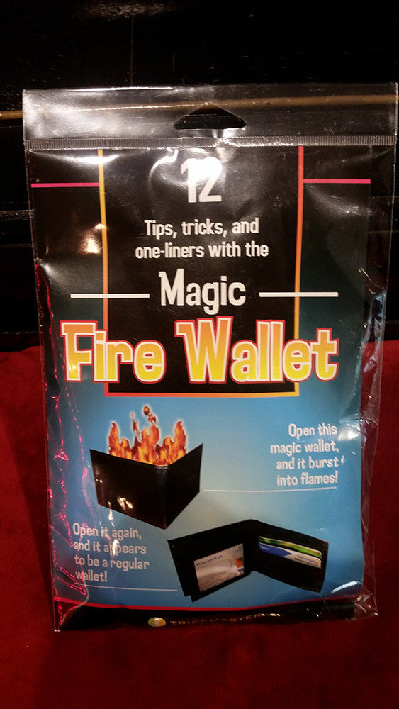 12 Tips, tricks and one-liners with the Magic Fire Wallet