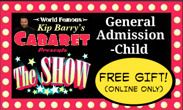 """The Show"" A) General Admission Tickets-Children (12 and under)"