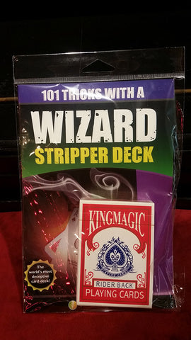 101 tricks with a Wizard Stripper Deck