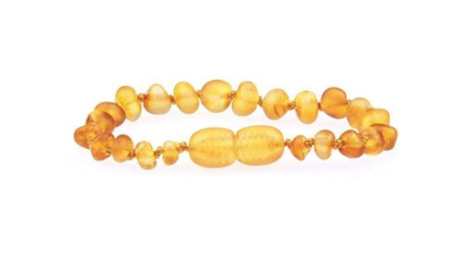 Wearing Amber Teething Bracelets Helps My Baby Sleep Better