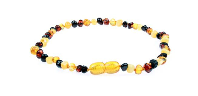 Amber Teething Necklace - A Natural Alternative For Teething Babies