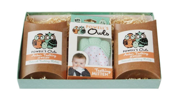Amber Teething Gift Set - The Perfect Gift For Any New Parent""