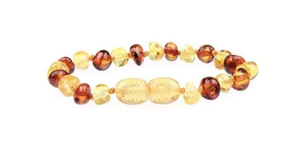 A Great Natural Alternate For Teething Is The Amber Teething Bracelet