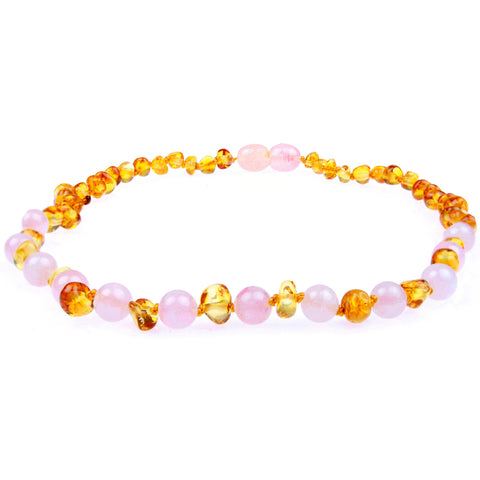 Amber Necklace For Baby