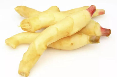 Peeled Ginger Root for Teething