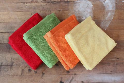 Washcloth for teething