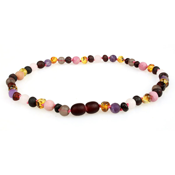 Amber & Gemstone Necklaces