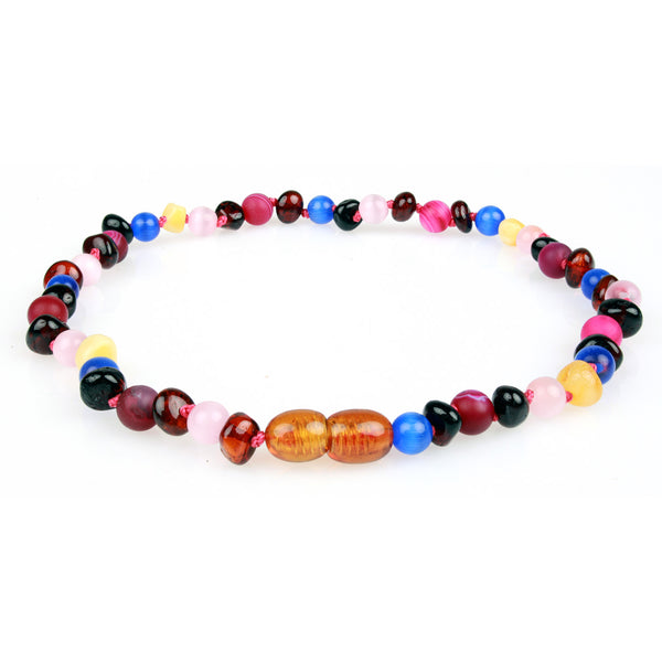 Amber & Gemstone Necklaces - Wholesale