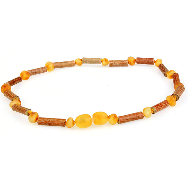 Amber & Hazelwood Teething Necklaces