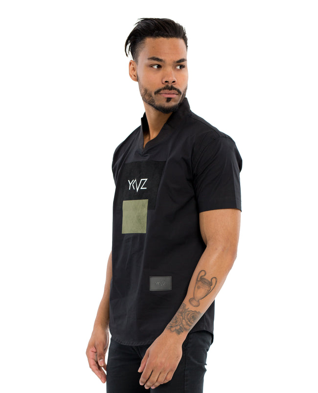 "The Black "" V-Shirt """