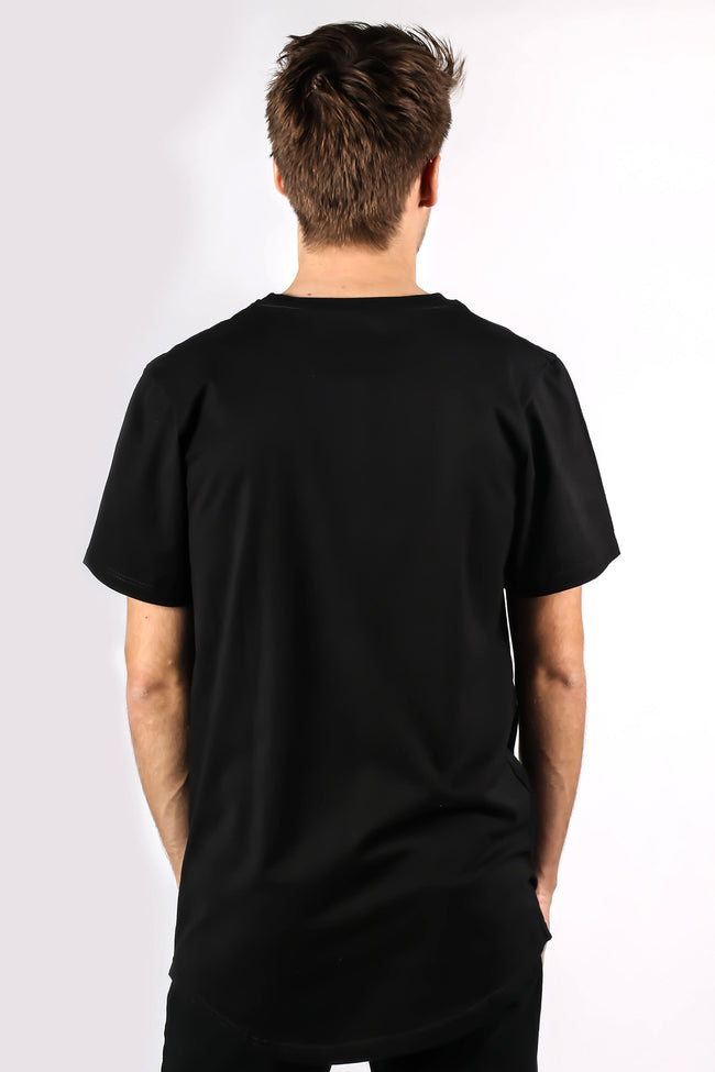 Ykvz t-shirt designer cloth black