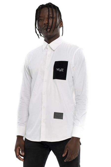 "The White "" V-Shirt "" #2"