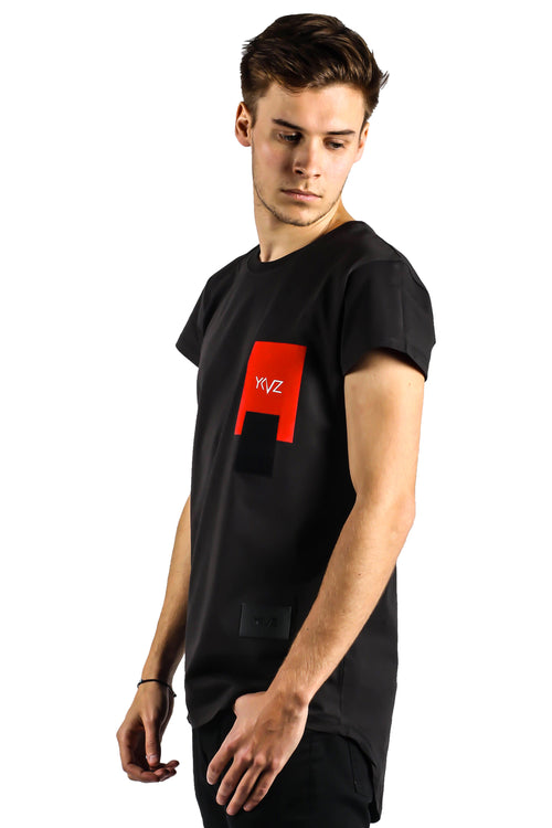 The Human Piece Of Art Black Tee