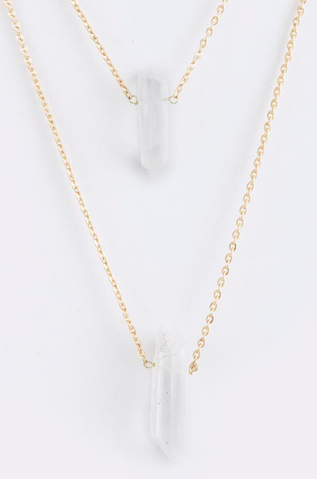 Gem x Layer Necklace