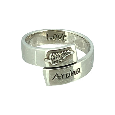 Aroha STERLING ring sterling silver