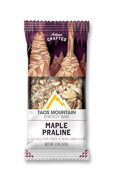 Taos Mountain Energy Bar Maple Praline - Park Avenue Coffee